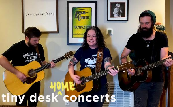 Ashley McBryde plays a Tiny Desk (Home) concert.