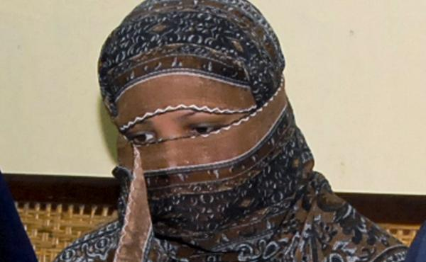 Asia Bibi, pictured in 2010, traveled safely from Pakistan to Canada on Tuesday, according to her lawyer. She is reunited with her two daughters who have also been granted asylum there.