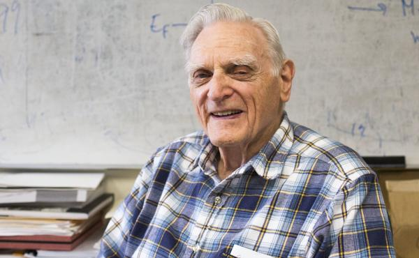 John Goodenough's work led to the lithium-ion battery, now found in everything from phones to electric cars. He and fellow researchers at the University of Texas, Austin say they've come up with a faster-charging alternative.