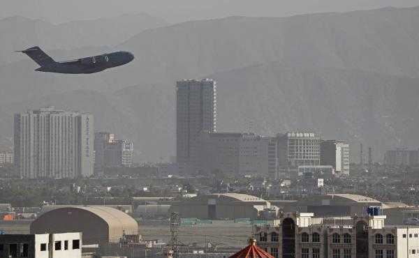 The White House says more than 100,000 people — including more than 5,000 U.S. citizens — have been evacuated from Afghanistan since the Taliban took over the country on Aug. 15.