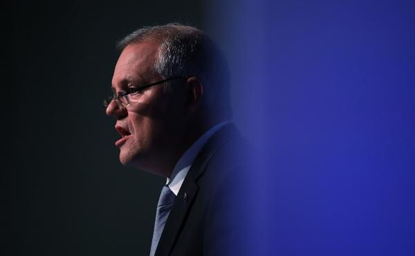 Australian Prime Minister Scott Morrison in May. Morrison apologized to hundreds of victims of child sexual abuse in Australian institutions on Monday.