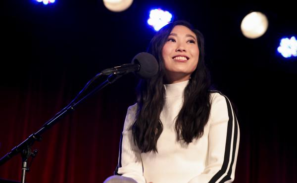 Awkwafina appears on Ask Me Another at the Bell House in Brooklyn, New York.