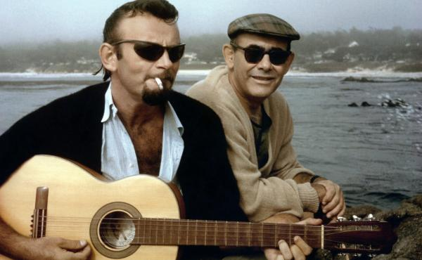 """Bert Berns (left) and Jerry Wexler (right) wrote The Drifters' """"I Don't Want to Go On Without You"""" in 1964. (But when the music business drove them apart, they did anyway.)"""