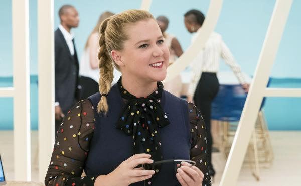 Amy Schumer stars as a woman who acquires a boost of self-confidence after a bump on the head in I Feel Pretty.