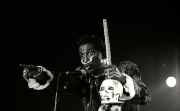 Screamin' Jay Hawkins performs in Spain in 1989.