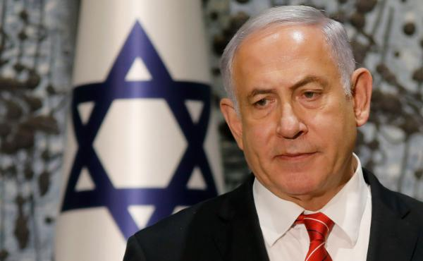 Israeli Prime Minister Benjamin Netanyahu, seen during a news conference last month in Jerusalem, has told President Reuven Rivlin that he can't form a government. The move opens the door for his rival, Benny Gantz, to attempt to do so in his stead.