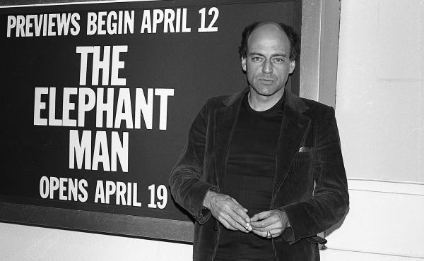 """Bernard Pomerance, playwright of """"The Elephant Man,"""" in New York in 1979, the year the play debuted."""
