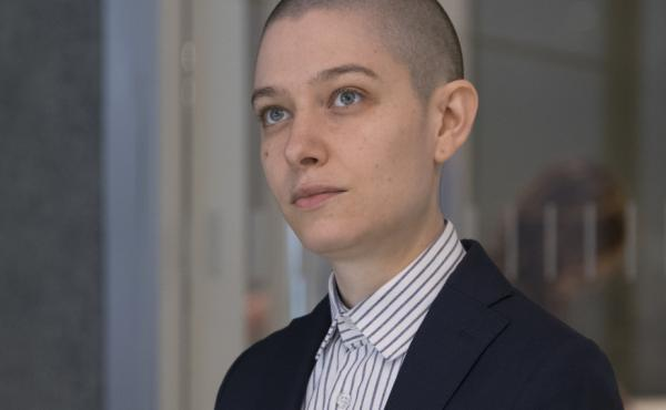 Asia Kate Dillon as Taylor in Billions