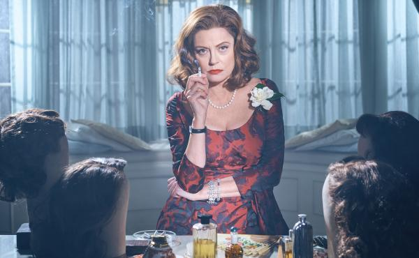 Susan Sarandon plays Bette Davis in Bette and Joan. The eight-part miniseries, which begins Sun., March 5, kicks off the FX anthology series Feud.