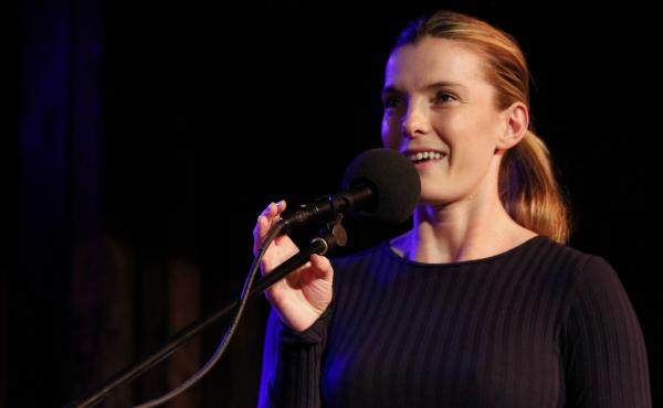 Betty Gilpin on Ask Me Another.