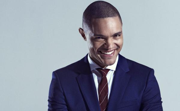 """Comedian Trevor Noah was born in South Africa during apartheid — """"born a crime,"""" as he says."""