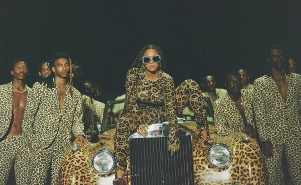 Beyoncé, in a promotional still for her visual album Black Is King.