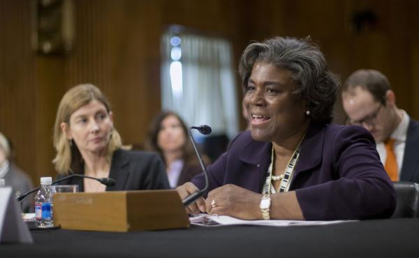 Linda Thomas-Greenfield, pictured in January 2014, is President-elect Joe Biden's choice for United Nations ambassador.