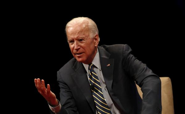 """Former Vice President Joe Biden says he would not have had """"any part"""" of an effort to replace Hillary Clinton as the 2016 Democratic presidential nominee."""