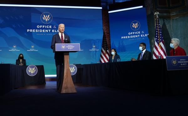 President Biden has vowed quick action on climate change, appointing the largest climate staff of any president.
