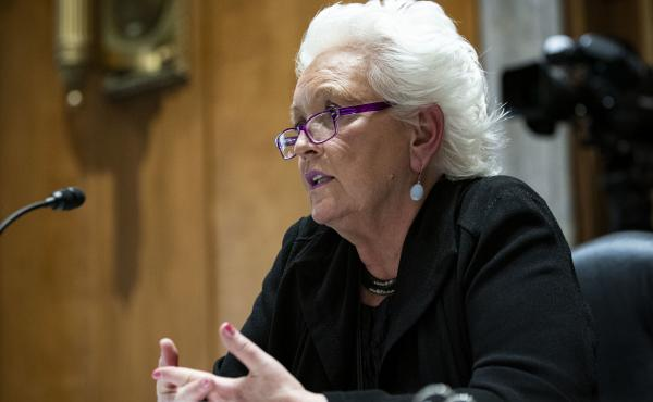 """Gayle Smith told the Senate Foreign Relations Committee hearing on May 12: """"There is no question but that we need a grand plan and the United States needs to be at the forefront of that,"""" she said."""
