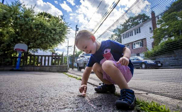 Two-year-old Robbie Klein of West Roxbury, Mass., has hemophilia, a medical condition that interferes with his blood's ability to clot normally. His parents, both teachers, worry that his condition could make it hard for them to get insurance to cover his