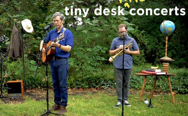 Bill Callahan plays a Tiny Desk (home) concert.
