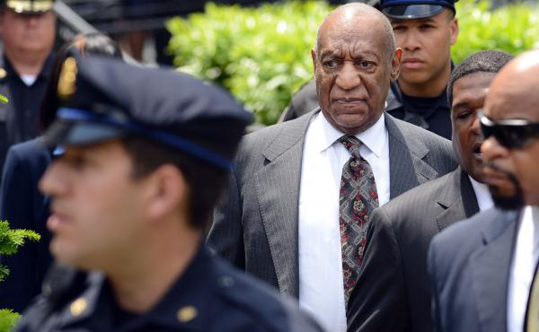 Actor and comedian Bill Cosby leaves a preliminary hearing on sexual assault charges in May at Montgomery County Courthouse in Norristown, Pennsylvania.