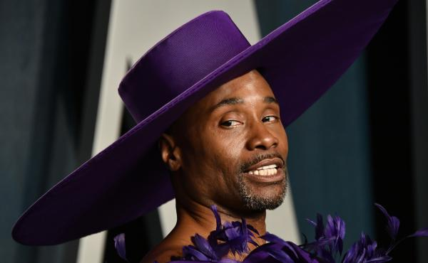 """Billy Porter attends the 2020 Vanity Fair Oscar Party. """"Fabulous and serious can go hand in hand. I am proof positive of that,"""" he says."""