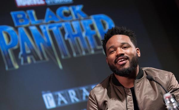 Director Ryan Coogler attends a London screening of his film Black Panther, the highest-grossing movie of 2018.