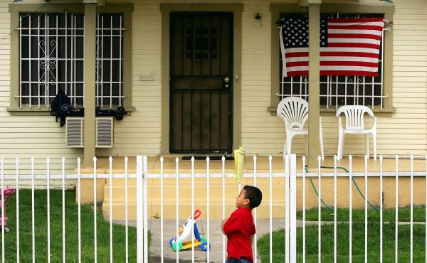 A study by the think tank Demos finds that black and Latino families with two parents still own only half as much as wealth as white single parents.
