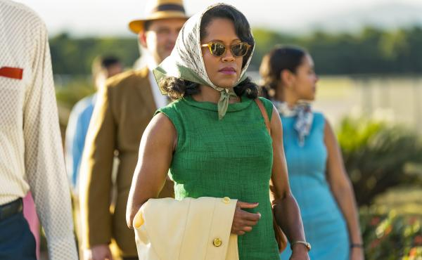 Regina King stars as Sharon, the mother of embattled young lover Tish, If Beale Street Could Talk.