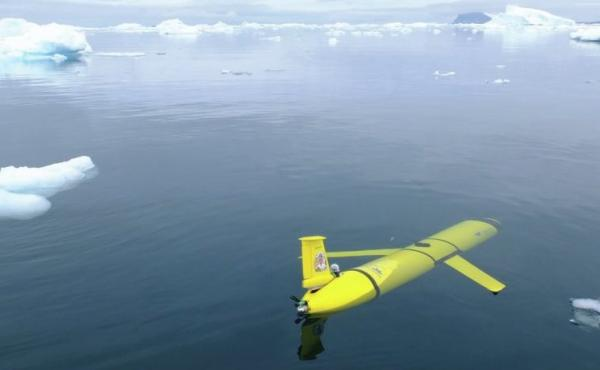 The name Boaty McBoatface is attached to three submersibles like this one, according to the BBC, instead of a large research vessel.