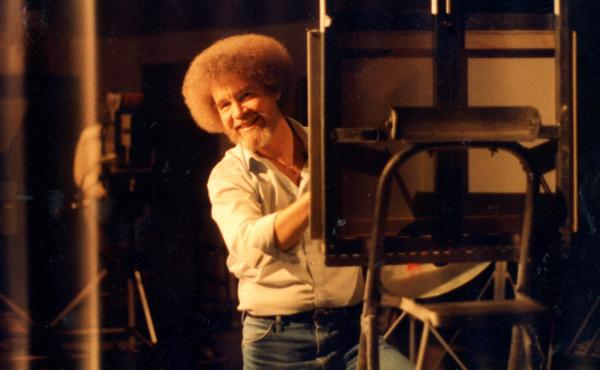 Bob Ross hosted The Joy of Painting for 31 seasons in the 1980s and '90s. He died in 1995. The painter is now the subject of a new documentary, Bob Ross: Happy Accidents, Betrayal & Greed.