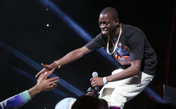 Bobby Shmurda at Brooklyn's Barclays Center on Oct. 30, 2014.