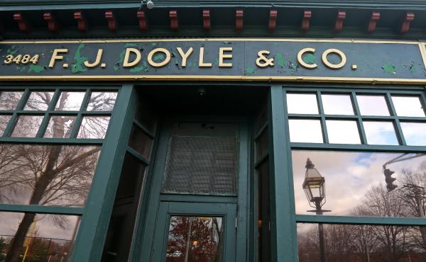 Doyle's owner, Gerry Burke Jr., is selling the cafe's liquor license. The restaurant business has changed, and for Burke, the pub (shown here in 2015) is no longer viable.