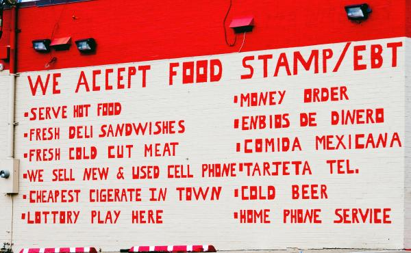 A new budget plan that calls for turning food stamps into a block grant program for states could affect stores that accept food stamps through an Electronic Benefits Transfer, or EBT, system like this one in Memphis.