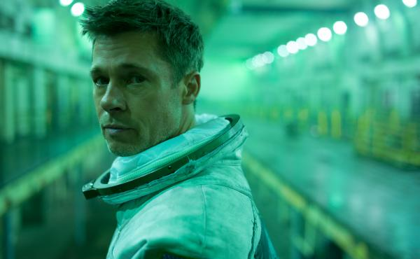 Brad Pitt stars in Ad Astra as an astronaut in search of his father, who disappeared on a mission many years prior.