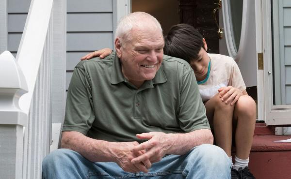 When 8-year-old Cody (Lucas Jaye) temporarily moves into the house next door to Del (Brian Dennehy), the two strike up an unlikely, intergenerational friendship. Dennehy died April 15 at the age of 81.