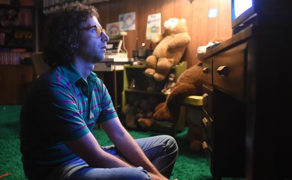 Kyle Mooney as James in Brigsby Bear.