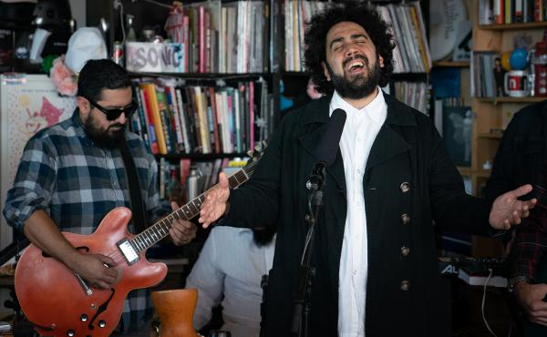 Brownout performs a Tiny Desk Concert on Oct. 18, 2018.