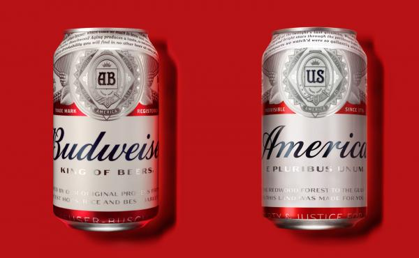 """Budweiser is calling itself """"America"""" for the summer."""