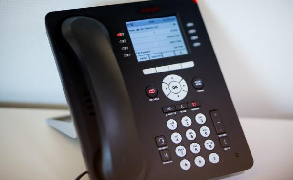 """That little red """"message"""" light may not be as ubiquitous in offices as it used to be."""