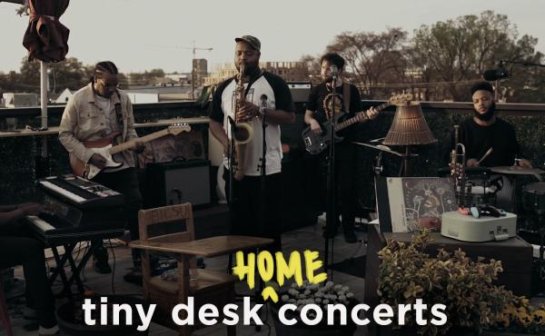 Butcher Brown performs a Tiny Desk (home) concert.