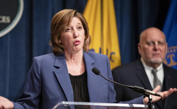 National Center for Immunization and Respiratory Diseases Director Dr. Nancy Messonnier, speaks during a news conference in January. Messonnier on Friday defended the CDC's handling of a new coronavirus case in California.