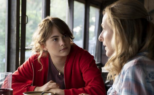 Emilia Jones and Marlee Matlin play daughter and mother in the new film CODA.