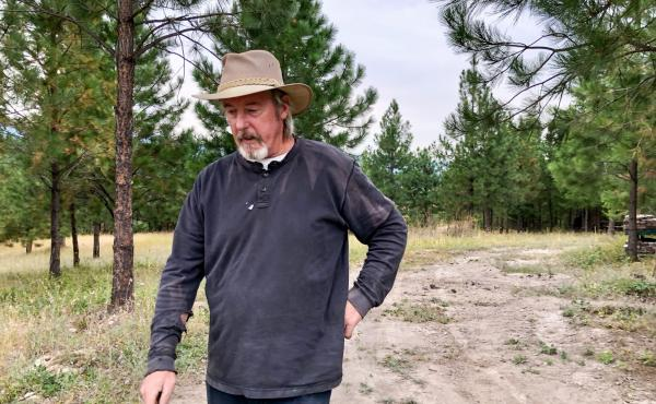 Frank Fahland, 61, is one of hundreds of Libby, Mont., residents who has an asbestos-related disease. That makes them potentially more vulnerable to complications from COVID-19.