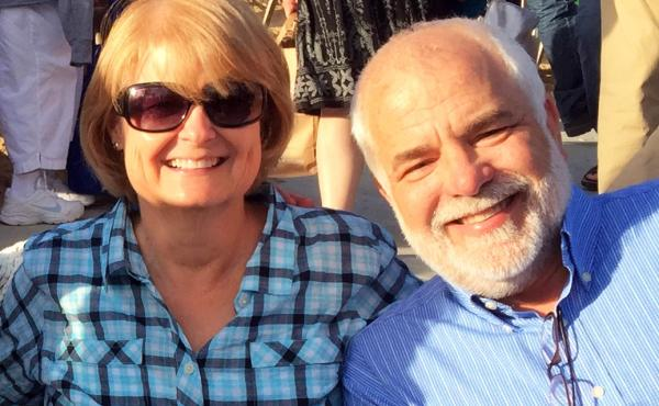 Cassie Ray (seen with her husband, Gerry) got a surprise bill from an out-of-network anesthesiologist after an operation.