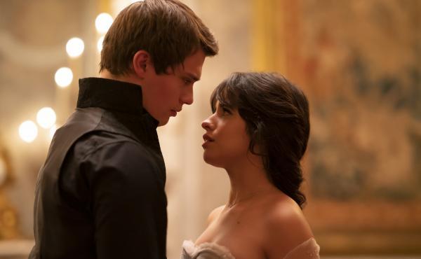 Nicholas Galitzine and Camila Cabello in Cinderella.