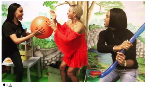 Renditions of the Mannequin Challenge have been done by professional sports teams, high school students, and even a few celebrities including Destiny's Child. It looks like they decided to do another reunion that didn't require a Super Bowl performance.