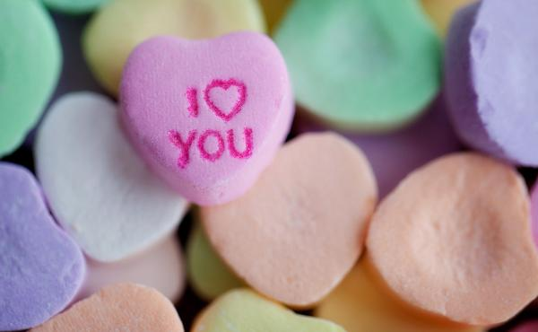 "If ""I Love You"" candy hearts aren't imaginative enough, you can always consider ""Stank Love"" or ""Sweat Poo."""