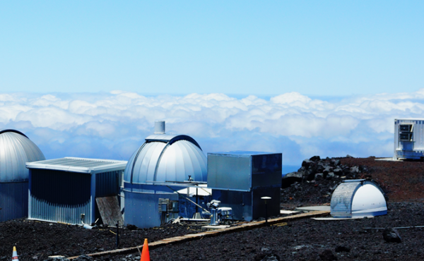This 2019 photo provided by NOAA shows the Mauna Loa Atmospheric Baseline Observatory in Hawaii. Measurements taken at the station in May 2021 revealed the highest monthly average of atmospheric carbon dioxide in human history.