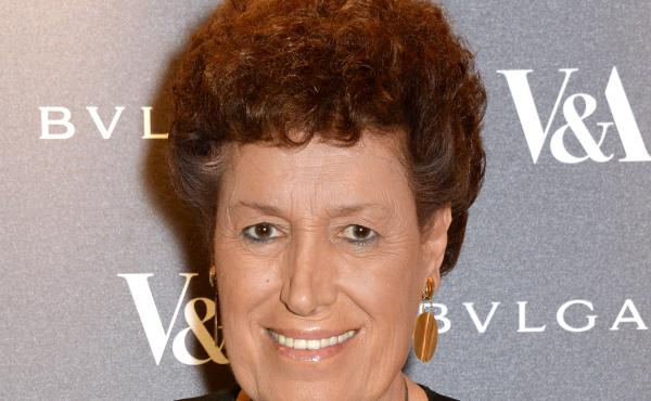 Carla Fendi in London in 2014. She died Monday in Rome at the age of 79.