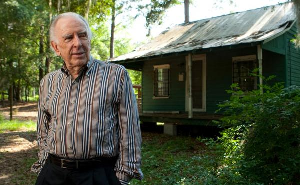 American composer Carlisle Floyd, photographed at his first home, in which he composed his best known opera, Susannah, in Tallahassee, Fla. in 2009.