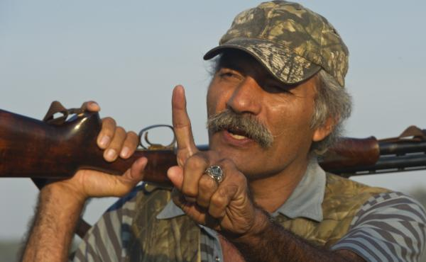 In this file photo, Dr. Jose Manuel Mireles speaks during an interview Dec. 1, 2013. Mireles is one of the subjects of the new film Cartel Land which follows vigilante groups fighting drug gangs.